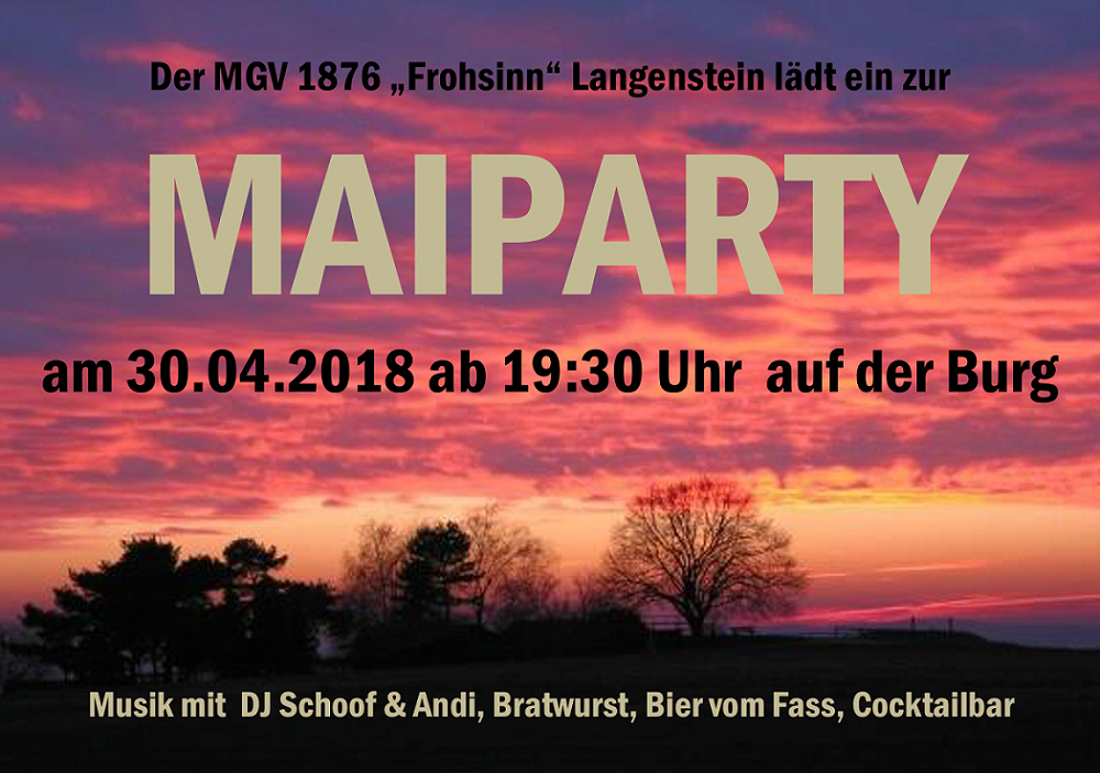 Maiparty 2018